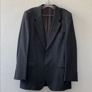 Yves Saint Laurent Men Grey Wool Jacket